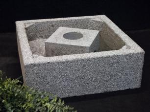 salg af Granit bassin til vandsten