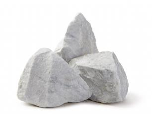 salg af Granitskærver Klippestykker hvide marmor 10-20 cm