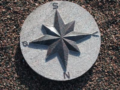 salg af Kompasrose luksus - dia 40 cm
