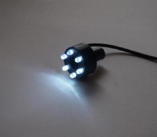 salg af LED ring lys - kold hvid