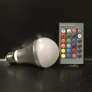 salg af LEDpære med farveskift