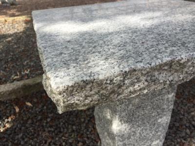 Lille havebord granit cafe eller kaffebord