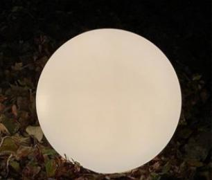 salg af Lysglobe - lille rund model