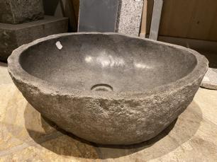 salg af Marksten håndvask grå