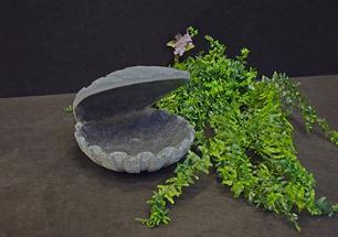 """salg af Komplet vandsten i grå granit """"Østers"""""""