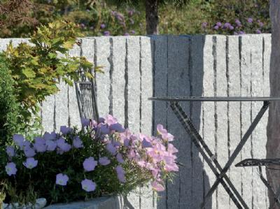 salg af Palisade kantsten grå granit