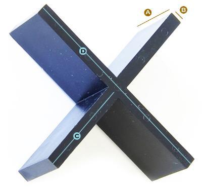 Pave-X afstandsstykker