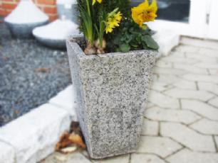 salg af Plantekumme - Lys grå granit