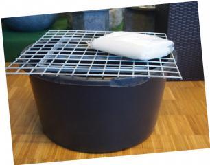 salg af PVC balje, gitter og net til vandsten