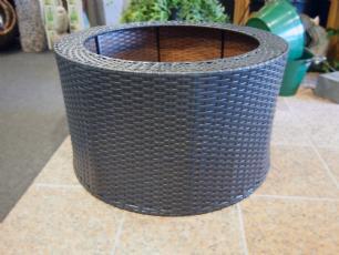 salg af Rattan cover t/ vandmiljø - Antracit grå