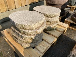salg af REST Trædesten gul granit