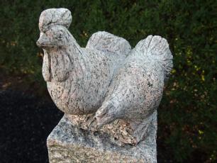 salg af Granit Hønsepar