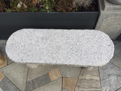 Granitbænk natursten