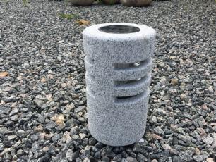 salg af Solcellelampe gr� granit