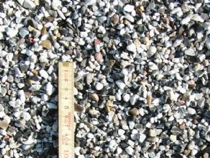 salg af S�sten sort/hvid perlesten 4-8 mm