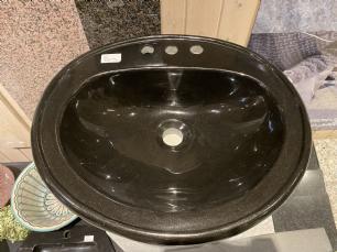 salg af Sort poleret håndvask