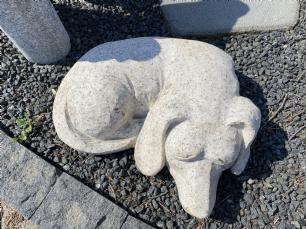 salg af Sovende hund L 30 cm