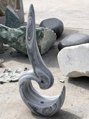 salg af Skulptur Symfoni abstrakt
