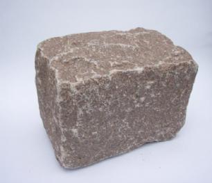 salg af Brosten rød manga granit - styk.