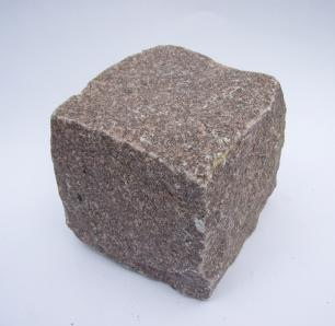 salg af Chaussésten Rød Manga granit - Styk.