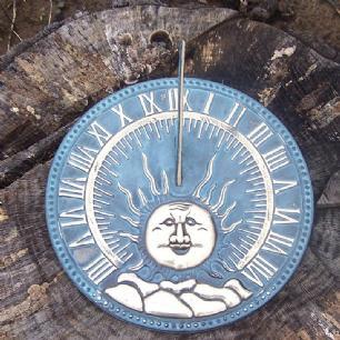 salg af Solur med sol og  sten.