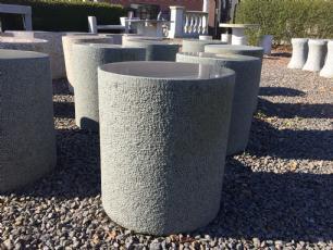 salg af Taburet granit - Sort sæde