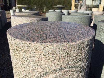 salg af Taburet rund - Rød granit