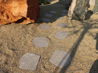 Trædeflise stenlook