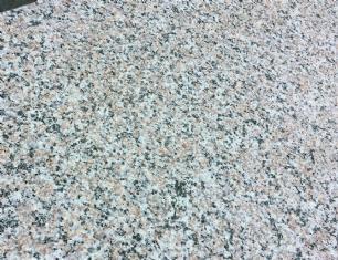 salg af Trappetrin halvcirkel T-rosa granit