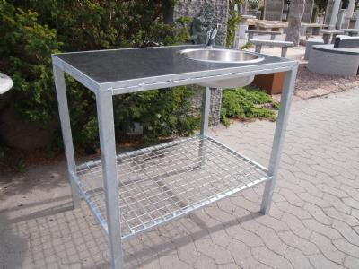 salg af Udekøkken - galvaniseret