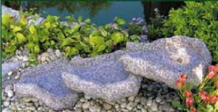 salg af Vandfaldssten - lys grå granit