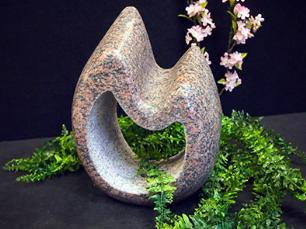 """salg af Granit vandsten """"Bølge"""" med hul"""