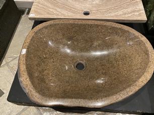 salg af Vask marksten rødbrun