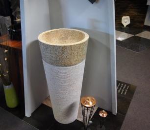 salg af Vaskesøjle i gyldent granit