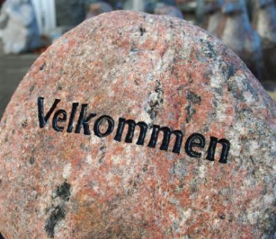 salg af Velkommen Sten - Natursten/marksten