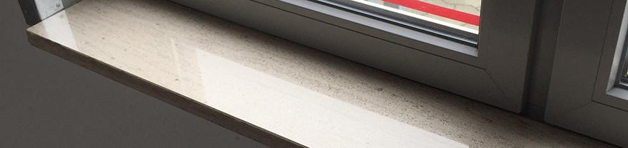 bundstykke til vindueskarm